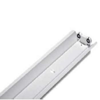 飞利浦LED T8支架灯 BN011C 2xTLED L1200 2R G2 GC 双灯管带罩 空包支架不含光源(适配1.2米单端进电 LED T8灯管) 单位:个