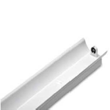 飞利浦LED T8支架灯 BN011C 1xTLED L1200 2R G2 GC 单灯管带罩 空包支架不含光源(适配1.2米单端进电 LED T8灯管) 单位:个