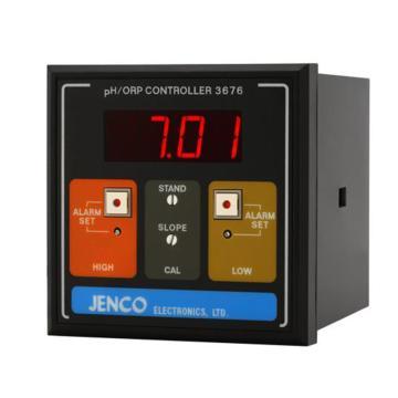 工业在线PH变送器,JENCO,3676配IP-600-10(20米)
