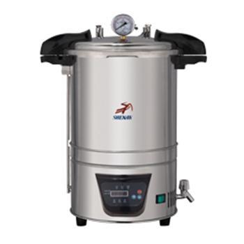 18立升手提式高压蒸汽灭菌器,DSX-18L,申安