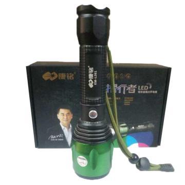 康铭 手电筒,KM-L261 光通量240lm 含1节18650锂电池 不含充电器,单位:个