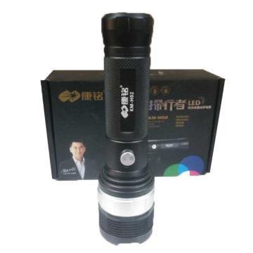 康铭 手电筒,KM-H02 光通量1000lm 内置锂电池 含USB充电线,单位:个
