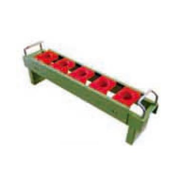 刀具座配合方形套,含刀具套 含挂片 适用刀具型号BT40 可存支数5支