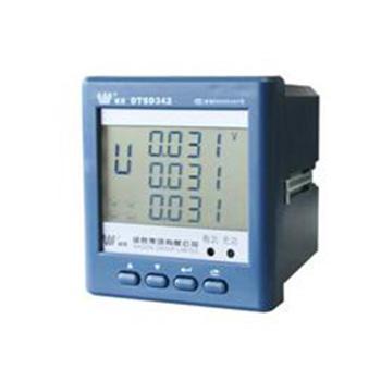 威胜 电能表 DTSD342-9N  0.5S  电压输入:3X57.7/100V;电缆输入:1(2)A;准确度等级:有功0.5S无功2.0;脉冲常数:有功5000IMP/kws 无功5000imp/kvarh
