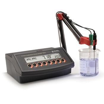 台式微电脑酸度pH-ORP-温度测定仪,HI2223,哈纳