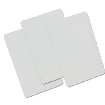 斑马 ZXP3C双面证卡,打印机配套白卡86*54mm 不带芯片白卡 单位:个