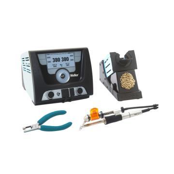 威乐多功能返修焊台套装,温度范围50-550℃主机200W/230V WXDP 120带干式清洁球支架,WXD 2010 Set(T0053428699N)