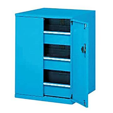 带门工具柜, 723W*600D*1200H 3个抽屉