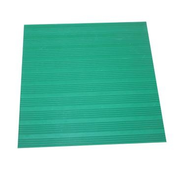 华泰 耐高压防滑平面绝缘垫,绝缘胶板 绿色,3mm厚 1m宽 10米/卷,5kv