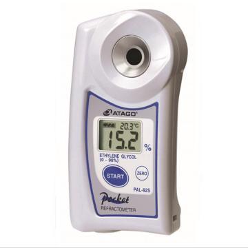 ATAGO浓度计,爱拓 乙二醇/冷冻温度(℃)浓度计,PAL-91S