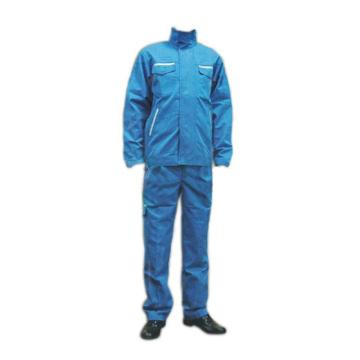 圣欧 防电弧分体服,12.7cal,宝蓝色,尺码:L