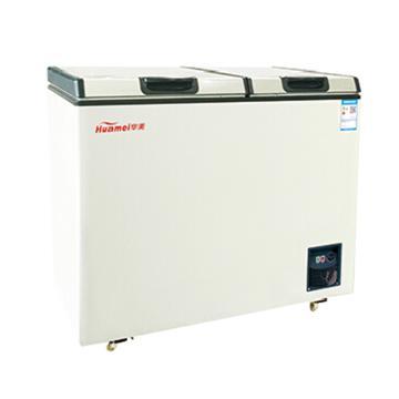 华美 166L大冷冻小冷藏双温双开冷柜,BCD-176AJ