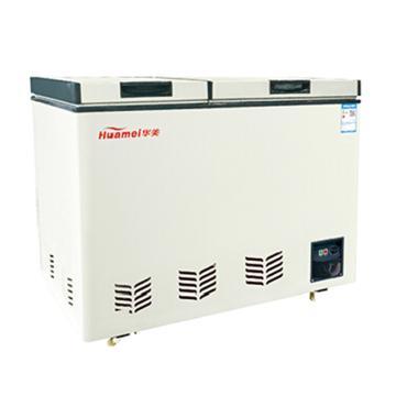 华美 216L大冷冻小冷藏双温双开冷柜,BCD-216A(铜管产品)