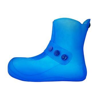 盾王 防水鞋套,999-36/37,蓝色