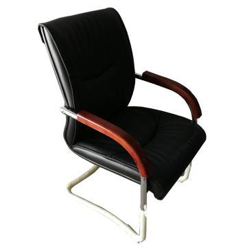 真皮办公椅,木质扶手 尺寸97*57*71(散件不含安装)
