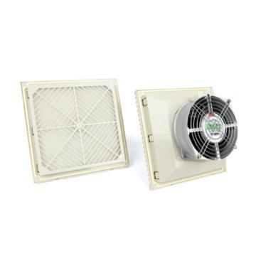 雷普 机柜风扇带过滤器,FKL6625.230,230V,面板255×255mm,RAL7035色,订货号2013.013