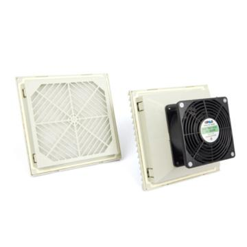 雷普 机柜风扇带过滤器,FKL6623.230,230V,面板204×204mm,RAL7035色,订货号2013.009