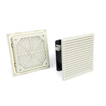 雷普 机柜风扇带过滤器,FKL6622.230,230V,面板148.5×148.5mm,RAL7035色,订货号2013.005