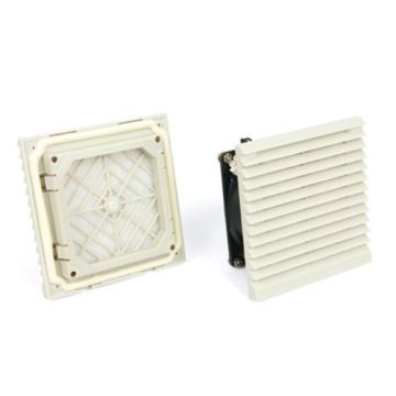 雷普 机柜风扇带过滤器,FKL6621.230,230V,面板116.5×116.5mm,RAL7035色,订货号2013.001