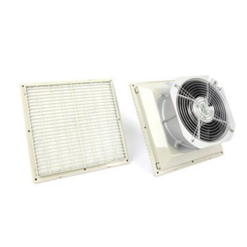 雷普 机柜风扇带过滤器,FK6626.230,230V,面板323×323mm,RAL7035色,订货号2012.052