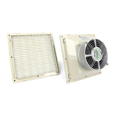 雷普 机柜风扇带过滤器,FK6625.230,230V,面板255×255mm,RAL7035色,订货号2012.048
