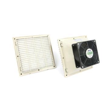 雷普 机柜风扇带过滤器,FK6623.230,230V,面板204×204mm,RAL7035色,订货号2012.044