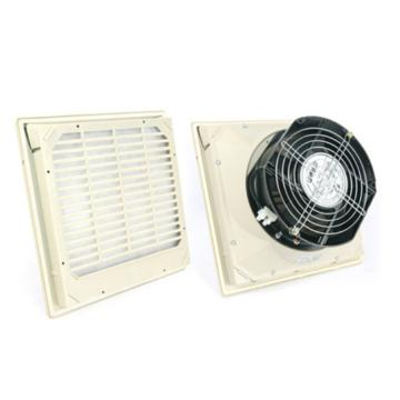 雷普 超薄型机柜风扇带过滤器,FK5525.230,230V,面板250×250mm,RAL7035色,订货号2011.024