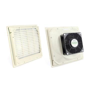 雷普 超薄型机柜风扇带过滤器,FK5523.230,230V,面板250×250mm,RAL7035色,订货号2011.020