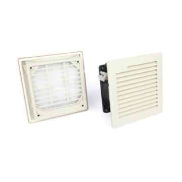 雷普 超薄型机柜风扇带过滤器,FK5522.230,230V,面板150×150mm,RAL7035色,订货号2011.016