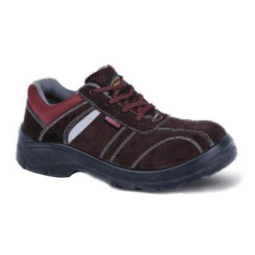 安保来 防砸绝缘安全鞋,棕色,21061,35(同型号合计50双起订)