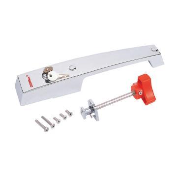 格美 回归式平门把手,CM-1210-HS,(材质:不锈钢、附不锈钢螺丝)