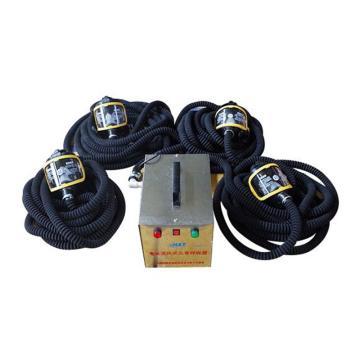 海安特 送风式长管呼吸器,四人,标配10m长管,HAT-DS/4-四人
