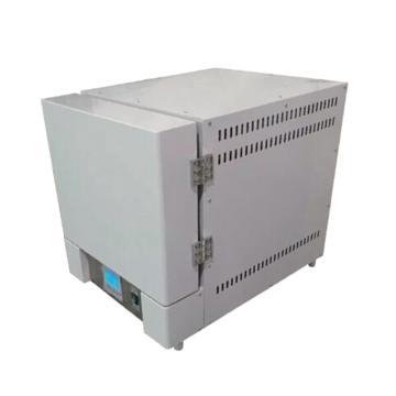 马弗炉,一体型,陶瓷纤维炉膛,智能程序电阻炉,4-10TP,4-10TP,温度上升时间:RT+10~1000<30min,容积:12L,炉膛尺寸:300*200*200mm