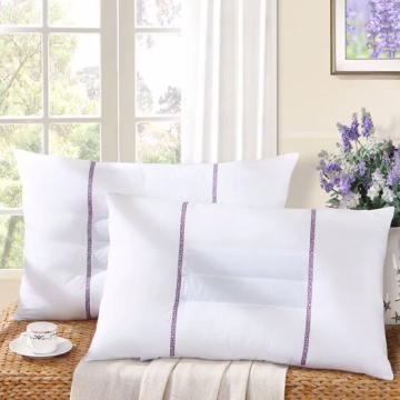 百丽丝枕芯,馨香薰衣草单人枕头枕芯花草枕,一对装床品 48*74CM