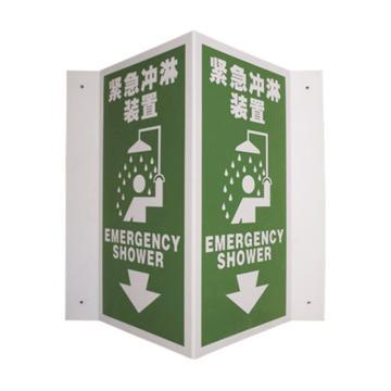 紧急冲淋装置,ABS板,单面150×300mm