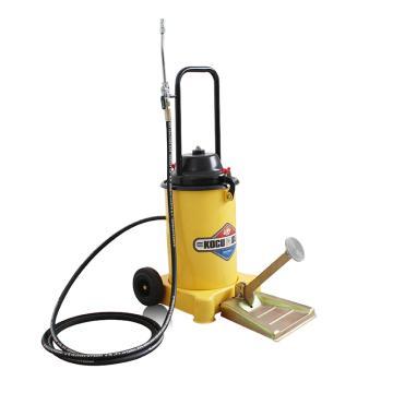 脚踏式黄油注油机标配装,12L,油压20-25Mpa,含阀门枪和油管,GZ-6J