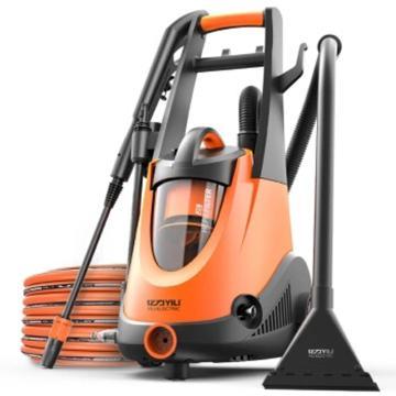亿力高压清洗机,高压洗车机 家用220V洗车机 洗车吸尘器二合一清洗机YE01