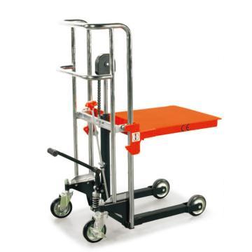 诺力 FP系列脚踏式平台堆高车,额定载重(kg):400,平台尺寸(mm):650*550,平台最低/最高高度(mm):200/1200,型号 FP0412