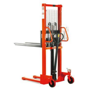 诺力 SFH系列标准型手动堆高车,额定载重(kg):1500,货叉尺寸(mm):550*1150,货叉最高高度(mm):1600,型号 SFH1516