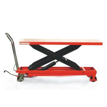 诺力 大型手动升降平台车(颜色:红黄随机) 载重(kg):500 起升范围(mm):290-915,TG50