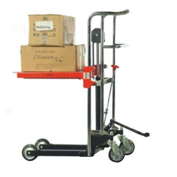 诺力 PS系列脚踏式平台堆高车,额定载重(kg):400,平台尺寸(mm):650*576,平台最低/最高高度(mm):85/1200,型号 PS0412