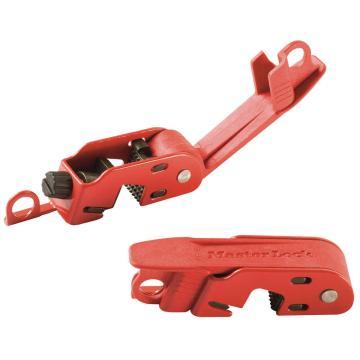 Master Lock Grip Tight电流断路器停工锁,标准单、双栓扣,493BMCN