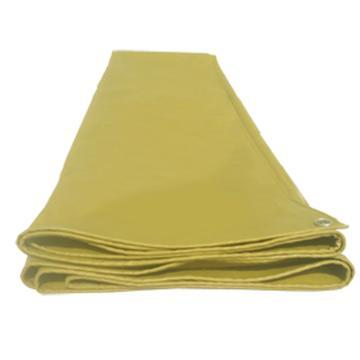 化纤布,上涂覆PVC材料防雨布, (土黄色,厚度:0.5mm )2m*3m