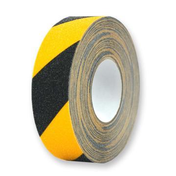 安賽瑞 防滑膠帶,黃/黑,50mm×20m,14212