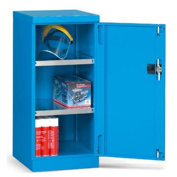 发弥 层板式置物柜, 564×598×1000mm(二块层板),蓝色