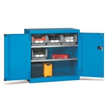 发弥 层板式置物柜, 1023×555×1000mm(二块层板)蓝色