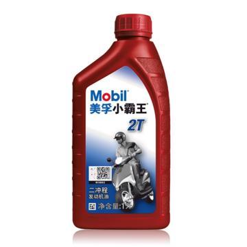 美孚 摩托车机油,小霸王 2T,1L*12L/桶