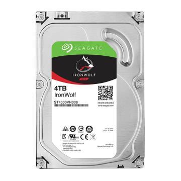 希捷(SEAGATE)硬盘,酷狼系列 4TB 5900转64M SATA3 网络存储(NAS)(ST4000VN008) 单位:台
