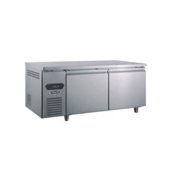 广东星星 格林斯达A系 二门风冷工作台,TZ400A2F,1800×760×800mm,内外箱304#不锈钢,环保制冷剂