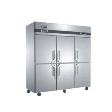 广东星星 格林斯达B系 六封门双温冷冻冷藏柜,QZ1.6L6,1810×760×1950mm,内外箱201#不锈钢